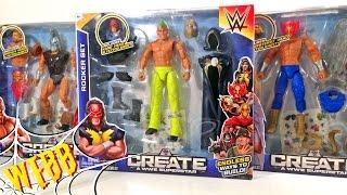 WWE Create A Superstar ROCKER LUCHA & GLADIATOR Sets