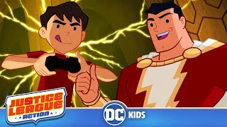 Justice League Action in Italiano | Giovane SHAZAM! | DC Kids