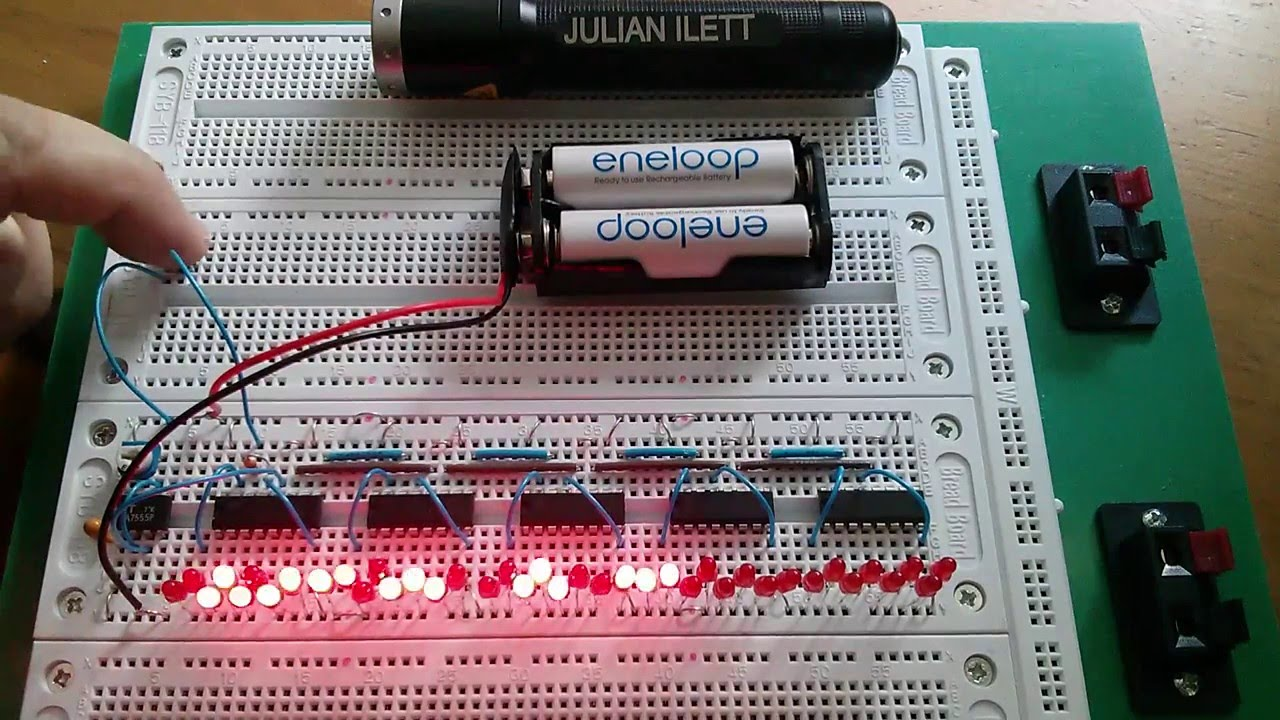 Julian U0026 39 S Logic  The 74hc595 Shift Register