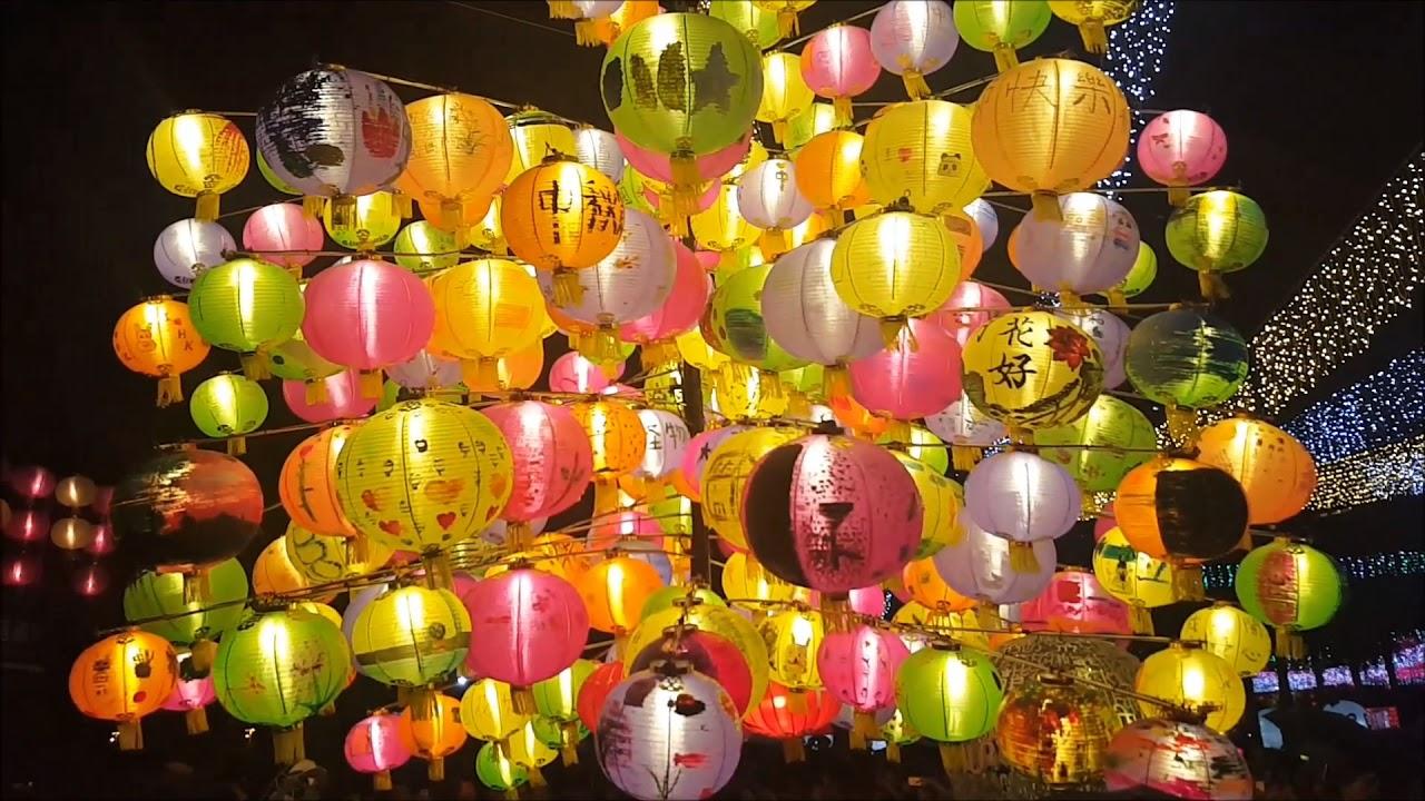 hong kong s mid autumn lantern festival at victoria park 2017 youtube