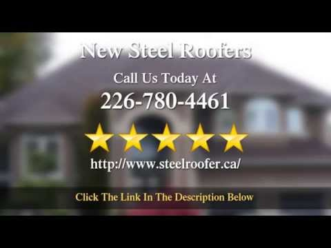 Metal Roofing Company Reviewed In Guelph - 5 Star Review Of New Steel Roofers