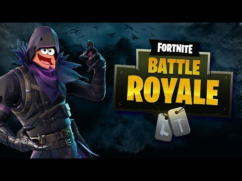 Fortnite Battle Royale - SKIN RAVEN, SKILL PATRICK !!