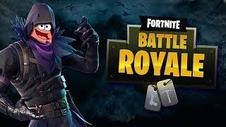 Fortnite Battle Royale - SKIN RAVEN, SKILL PATRICK !!