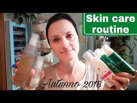 Skin care routine   Autunno 2018   Day & night