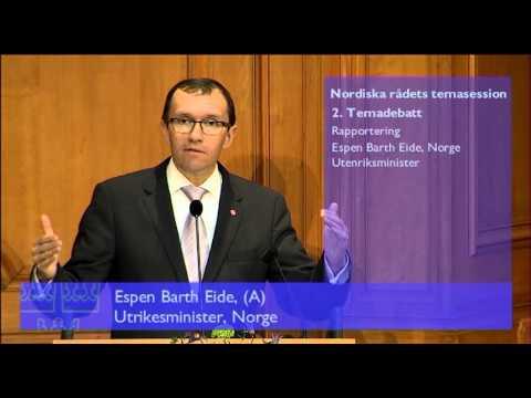 25 Espen Barth Eide, Norges forsvarsminister, svar på replik