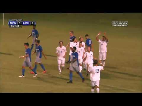 Memphis Soccer: Men's Soccer Beats HBU 3-0