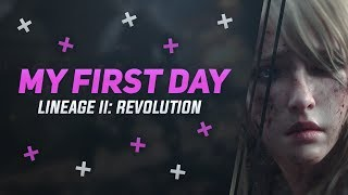 My First Day In Lineage 2: Revolution - Dawn of Destruction - Testing Out The New Class!