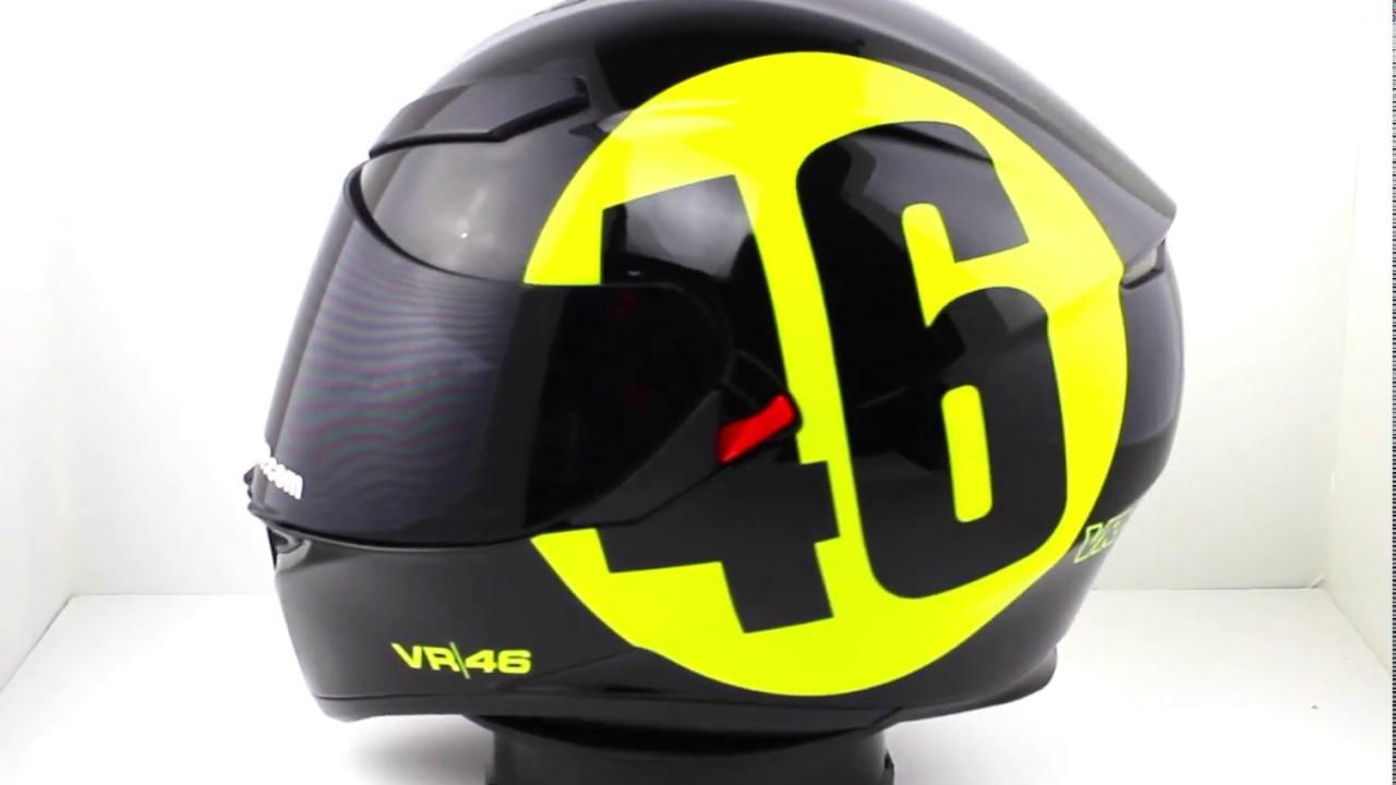5dbe4aa3 AGV K3 SV BOLLO 46 Helmet - YouTube