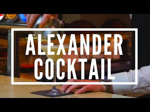 Alexander Cocktail/Brandy Alexander - Lakeside Bar
