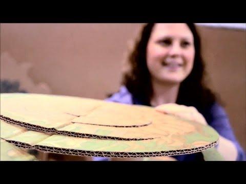 Creative Repurposing with Cardboard: Victorian Birdcage Card