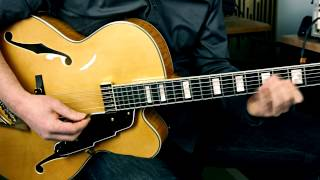 SUNNY - played on the D'Angelico EXL-1 Archtop