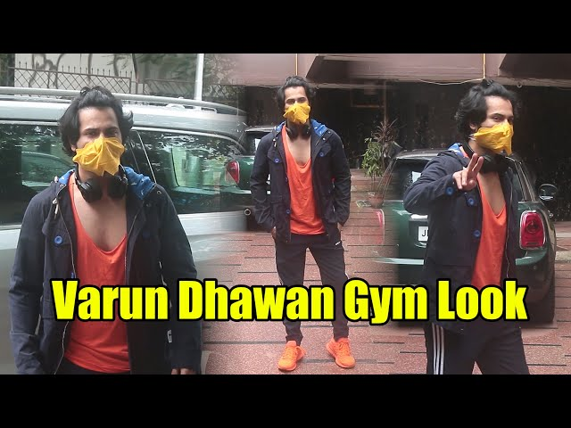 Coolie No 1 - Varun Dhawan Spotted In GYM Look | Celebrities Workout