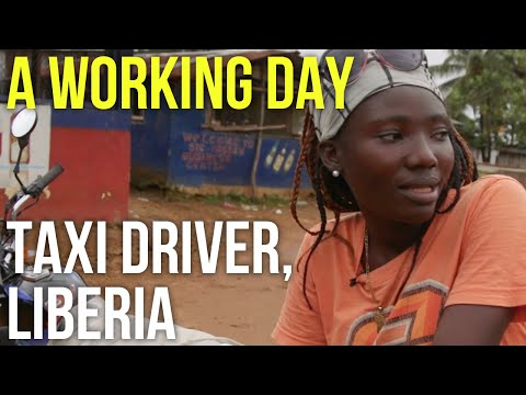A Working Day – Taxi Driver, Liberia