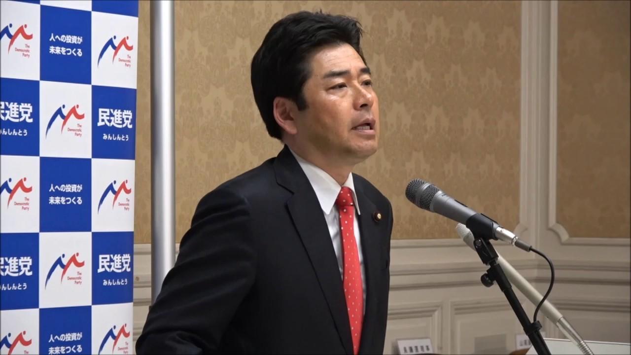 民進党・山井和則国会対策委員長...
