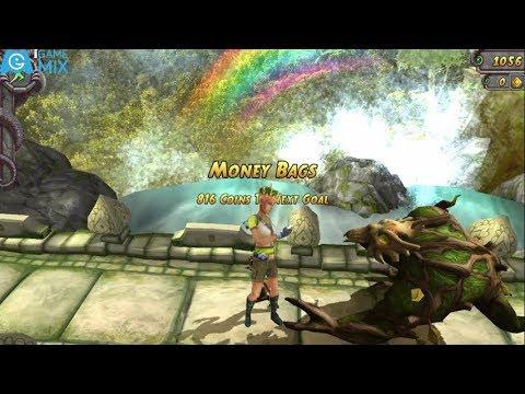 iGameMix/TEMPLE RUN 2 Fullscreen(MONEY BAGS ENDED)✔️Maria Selva_Jungle Crown*Gameplay For Kid#170