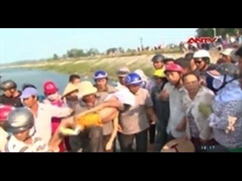 9 học sinh lớp 6 chết đuối thương tâm ở Quảng Ngãi