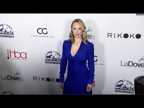 Danielle Savre 4th Annual Hollywood Beauty Awards Green Carpet