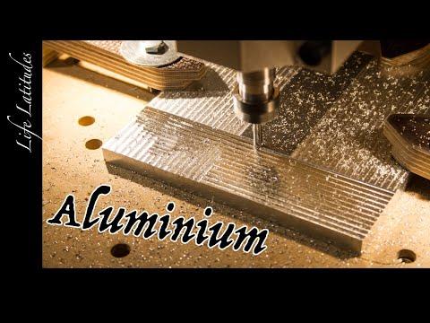 Aluminium fräsen | Schafft die selbstgebaute Fräse Aluminium?