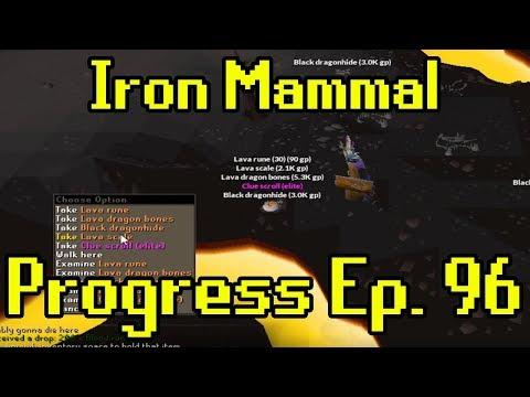 Oldschool Runescape - 2007 Iron Man Progress Ep. 96 | Iron Mammal