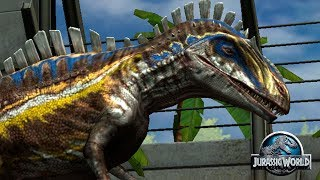 Защитите свою Территорию! Jurassic World The Game