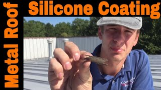 Metal Roofs that Leak: Repair Options - Silicone coating the worst product for metal roof sealant