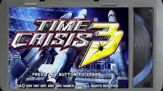 Time Crisis 3 :: PlayStation 2 Gameplay (Real Hardware / Component / 1080p) - VIDEO GAME B-ROLL
