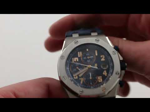 Pre-Owned Audemars Piguet Royal Oak Offshore Chronograph Pride of Argentina Luxury Watch Review