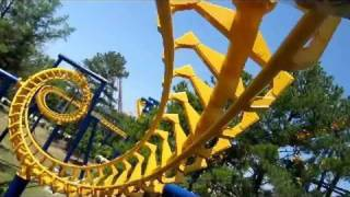 Nighthawk Front Seat on-ride widescreen POV Carowinds