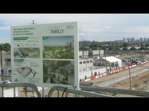 Lyon : Le Grand Parilly Sort De Terre