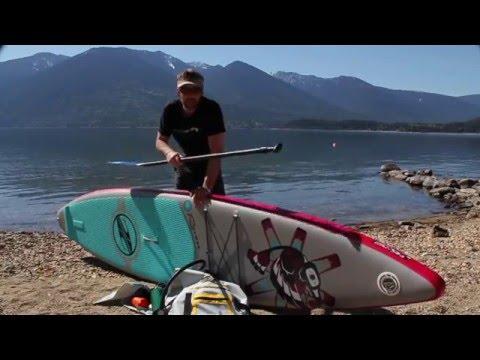 Boardworks Shubu Raven Inflatable SUP