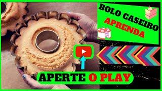 #94 🎂COMO APRENDER FAZER BOLOS CASEIROS FOFINHOS |RECEITA DE BOLO DE CENOURA FOFINHO |BOLO CASEIRO 🍰