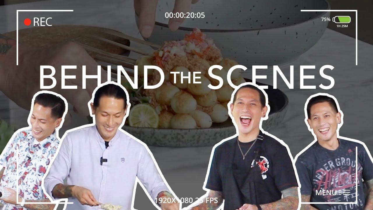 Behind The Scene Video Masak Chef Juna - Gak Ada Piring Terbang