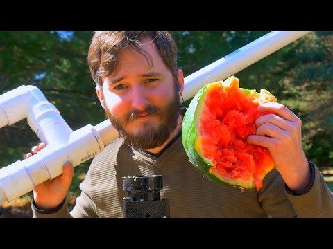 "How To Make A High Power Air Cannon - 2"" Piston Valve (Barrel Sealing)"