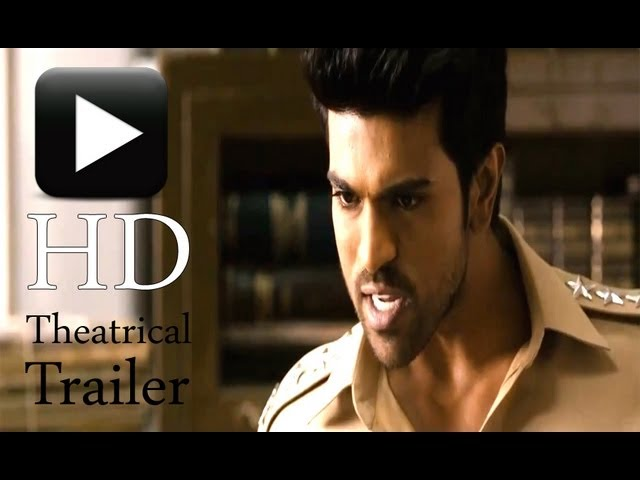 Toofan - First Look Trailer - Official HD theatrical Trailer of Ram Charan's Thoofan / Zanjeer Travel Video
