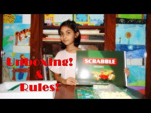Unboxing Scrabble and Rules for Beginners