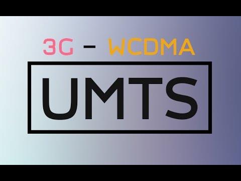 UMTS - 3G WCDMA - Next Generation Network (Thai described)