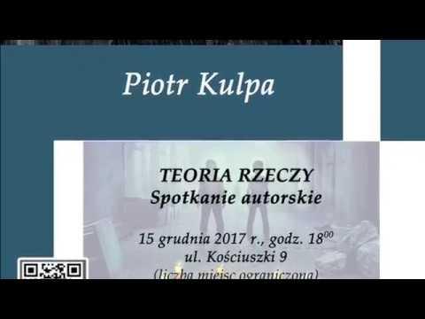 TKB – Spotkanie autorskie z Piotrem Kulpą – 14.12.2017