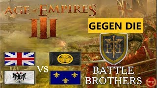 Age of Empires III - Hartes Duell gege die Battle Brothers 2vs2 [Deutsch/HD/Gameplay]