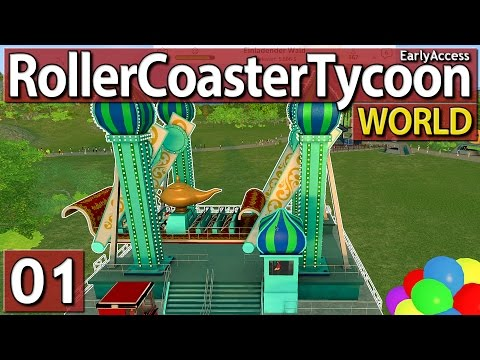 Roller Coaster Tycoon World #1 ENDLICH! - Gradarol? deutsch german HD