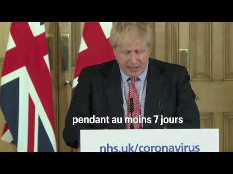 La stratégie risquée de Boris Johnson pour combattre le coronavirus en Angleterre