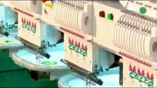 видео Вышивальные машины Barudan BEXY-Y