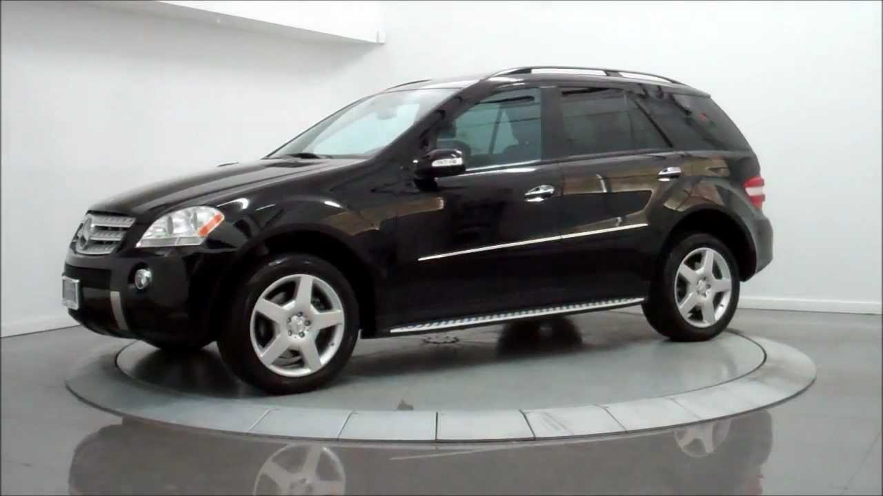 2008 mercedes benz ml550 4matic amg sport youtube