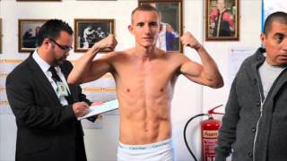 PAUL BUTLER v HECTOR ROLANDO GUZMAN OFFICIAL WEIGH IN & HEAD TO HEAD