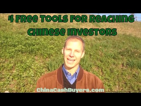 4 Free, Powerful Tools to Market Homes to Chinese Investors