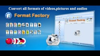 Gambar cover Format factory:How to download and Use  format factory software