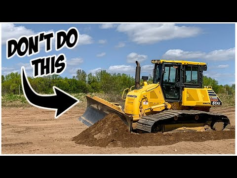What NOT To Do In A Bulldozer | Heavy Equipment Operator