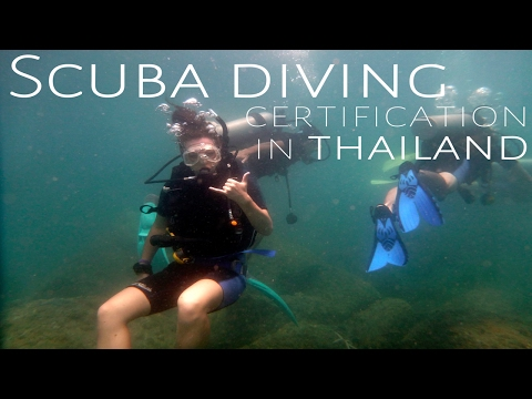 SCUBA DIVING LESSONS IN THAILAND | TRAVEL