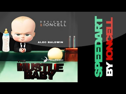 The Boss Baby Movie Poster Remake - The Hustle Baby Speedart - By Ioncell