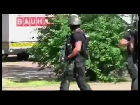 Armed police at scene of Germany cinema shooting