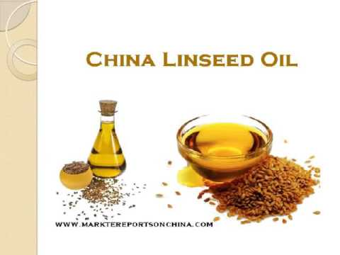 China Linseed Oil Sales Market Report